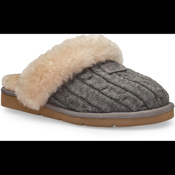 e0cb6c87cf6 Ugg Cozy Knit Slipper Heathered Grey 6